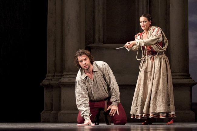 Keszei Bori és Bretz Gábor a Don Giovanniban (fotó: Vermes Tibor)