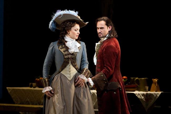 Barbara Frittoli és Mariusz Kwiecień a Metropolitan Don Giovanni-előadásában (fotó: Marty Sohl)