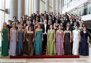 A Purcell Kórus és az Orfeo Zenekar Vashegyi Györggyel (fotó: Művészetek Palotája)