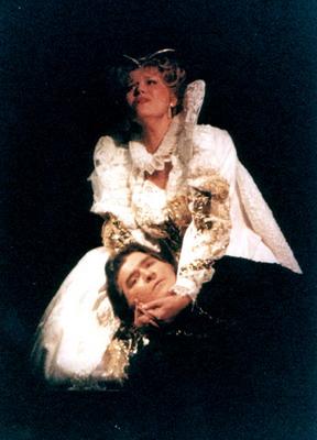 Kelen Péterrel a Don Carlosban (Fotó: Mezey Béla)