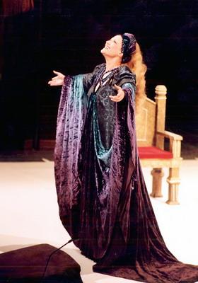 Tannhäuser - Erzsébet (Fotó: Mezey Béla)