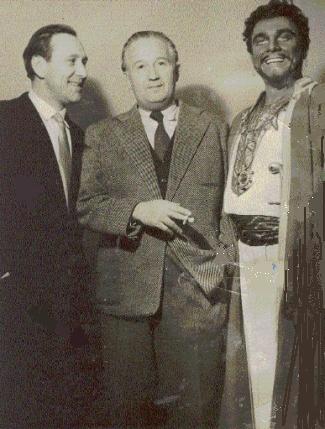 Bessenyei Ferenc és Nádasdy Kálmán társaságában