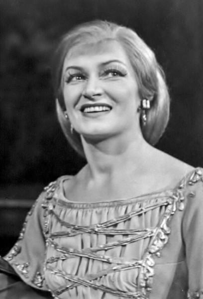 Gara Máriaként a Hunyadi Lászlóban, 1967