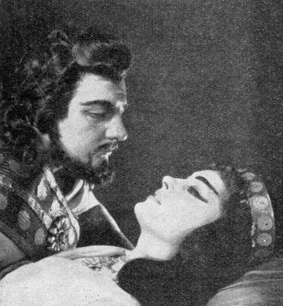 A Sámson és Delilában Komlóssy Erzsébettel