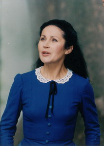 Az Önarckép című portréfilmje forgatásán