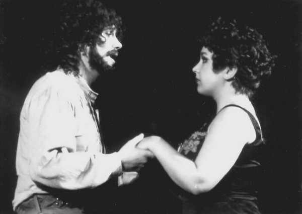 Bándi Jánossal a Così fan tuttéban (Fotó: Mezey Béla)