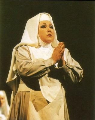 Angelica nővér (Fotó: Mezey Béla)