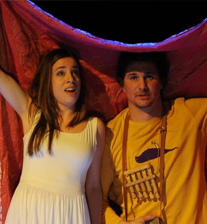 Hajnóczy Júliával A varázsfuvolában (Fotó: Éder Vera)