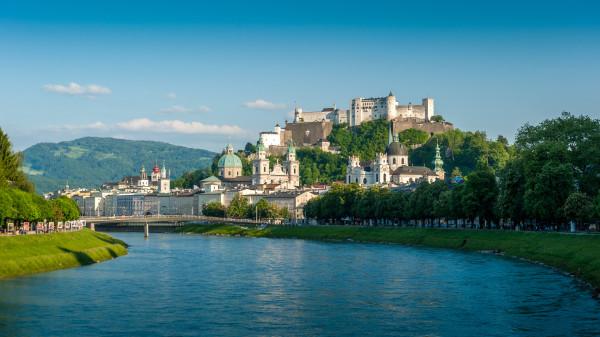 Salzburg látképe (fotó: Salzburgi Ünnepi Játékok)
