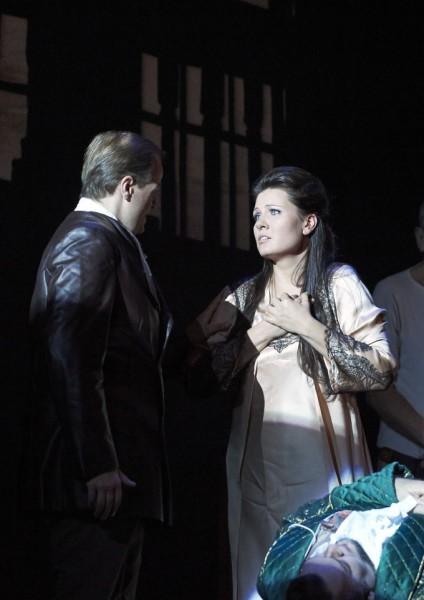 Donna Anna és Don Ottavio: Marina Rebeka és Benjamin Bruns (fotó: Wiener Staatsoper / Michael Pöhn)