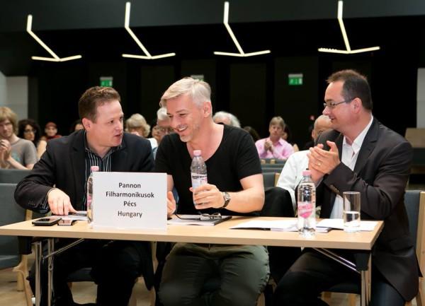 Vajda Gergely, Alföldi Róbert és Horváth Zsolt (fotó: Armel Operafesztivál)