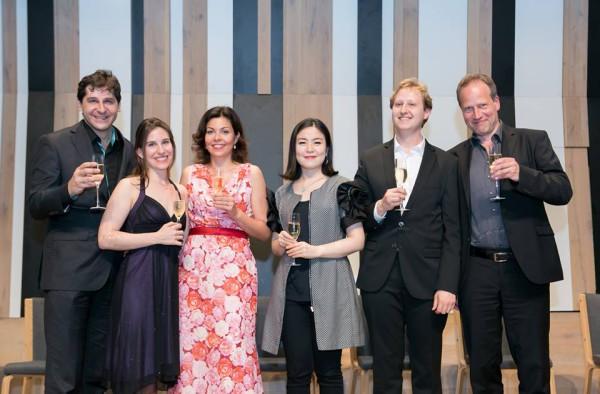 Nicolas Rigas, Morgane Heyse, Heiter Melinda, Je Ni Kim, Wolfgang Resch és Rüdiger Lasa (fotó: Armel Operafesztivál)