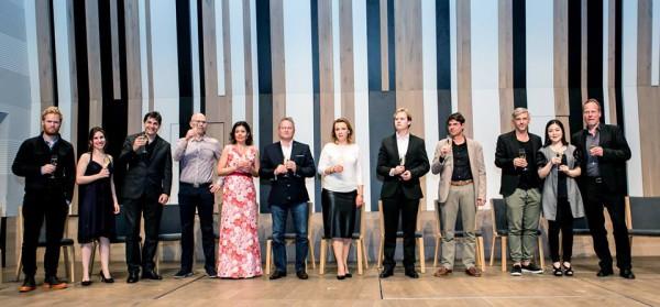 A győztesek és a partnerintézmények képviselői (fotó: Armel Operafesztivál)