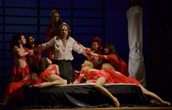 Sámson: Marius Vlad Budoiu (fotó: Szabadi Péter / Kolozsvári Magyar Opera)