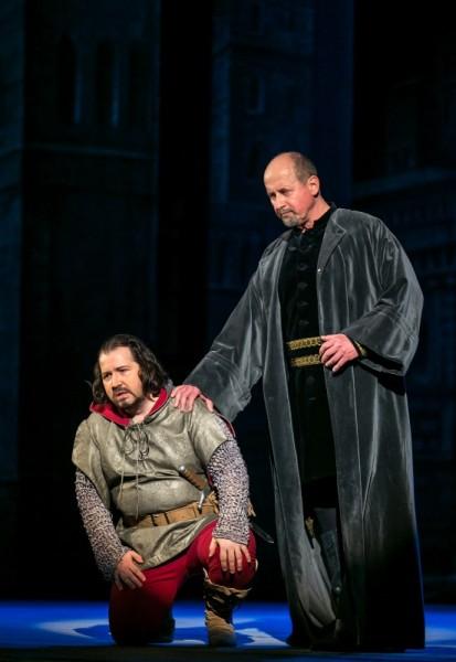 Boccanegra és Fiesco: Kelemen Zoltán és Altorjay Tamás (fotó: Csibi Szilvia)