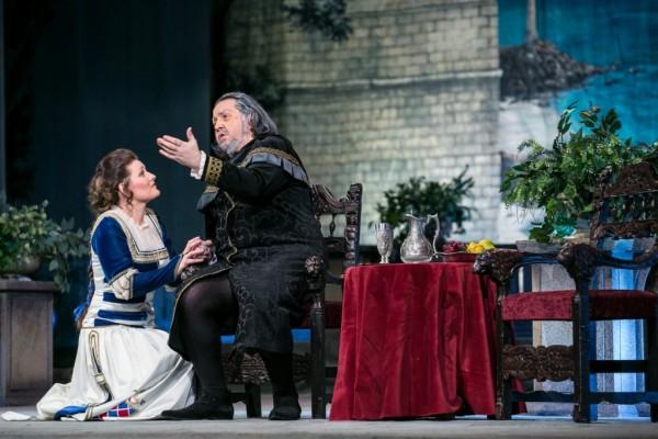 Amelia és Boccanegra: Kónya Krisztina és Kelemen Zoltán (fotó: Csibi Szilvia)