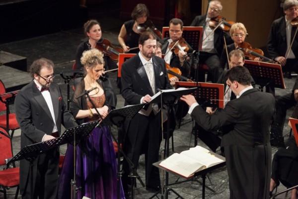 Rálik Szilvia, Kiss B. Atilla, kálmándi Mihály és Héja Domonkos (fotó: Herman Péter)