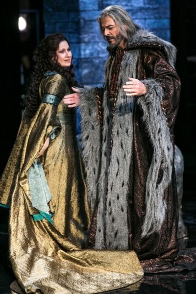 Amelia és Boccanegra: Boross Csilla és Kálmándi Mihály (fotó: Csibi Szilvia)