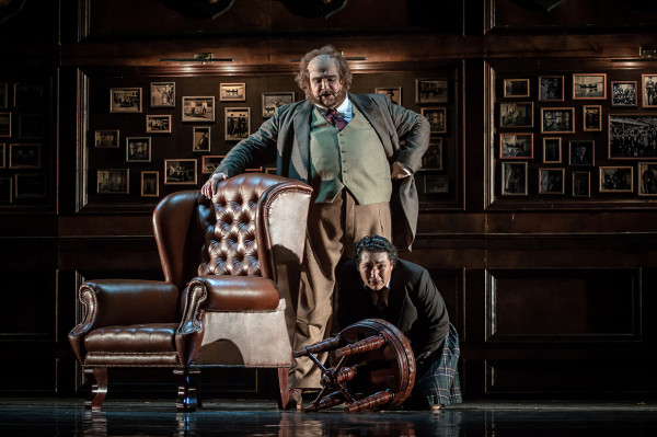 Falstaff és Ford: Kiril Manolov és Alik Abdukayumov (fotó: Vermes Tibor)