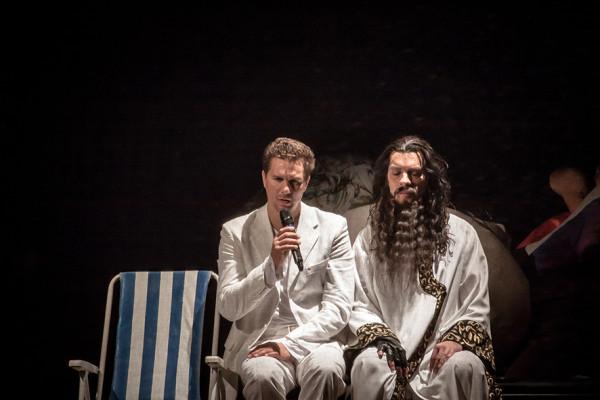 Mario és Cipolla: Nagy Ervin és Bretz Gábor (fotó: Vermes Tibor)