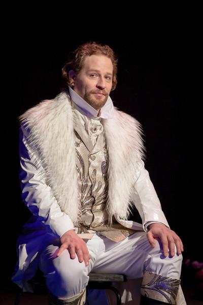 A herceg: Cser Krisztián (fotó: Vermes Tibor)