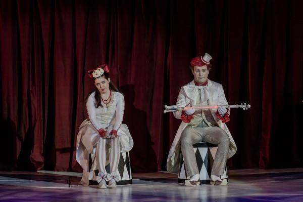 Pamina és Tamino: Szemere Zita és Megyesi Zoltán (fotó: Vermes Tibor)