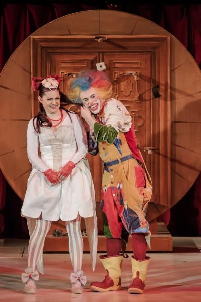 Pamina és Papageno: Szemere Zita és Gradsach Zoltán (fotó: Vermes Tibor)