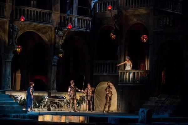 Jelenet a Salome-előadásból (fotó: Nagy Attila)