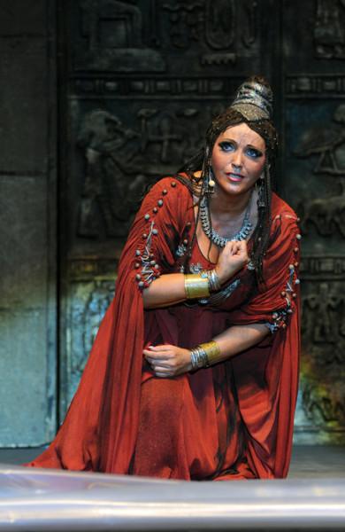 Aida: Sümegi Eszter (fotó: Szkárossy Zsuzsa / Budapesti Nyári Fesztivál)