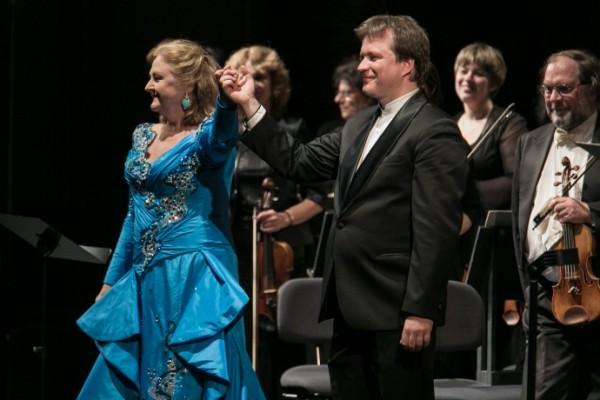 Edita Gruberová és Andrij Jurkevics (fotó: Nagy Attila / Magyar Állami Operaház)