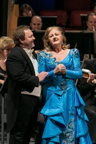 Edita Gruberová és Dario Schmunck (fotó: Nagy Attila / Magyar Állami Operaház)