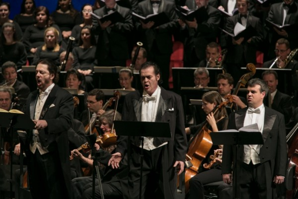 Kálmándi Mihály, Fried Péter és Horváth István (fotó: Nagy Attila / Magyar Állami Operaház)