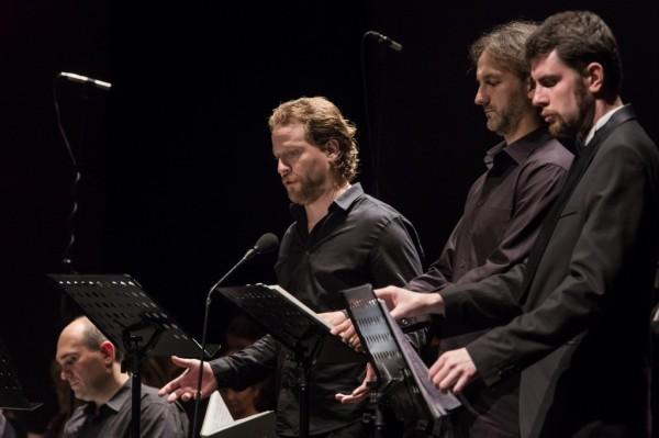Cser Krisztián, Geiger Lajos és Pintér Dömötör (fotó: Nagy Attila / Magyar Állami Operaház)