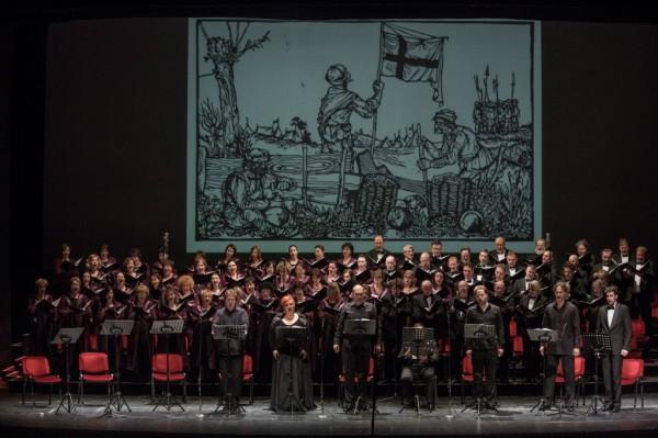 Jelenet a koncertről (fotó: Nagy Attila / Magyar Állami Operaház)