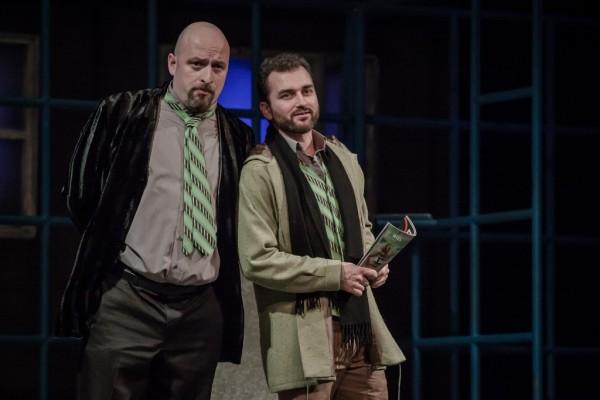 Nick Shadow és Tom Rakewell: Kálmán Péter és Balczó Péter (fotó: Vermes Tibor)