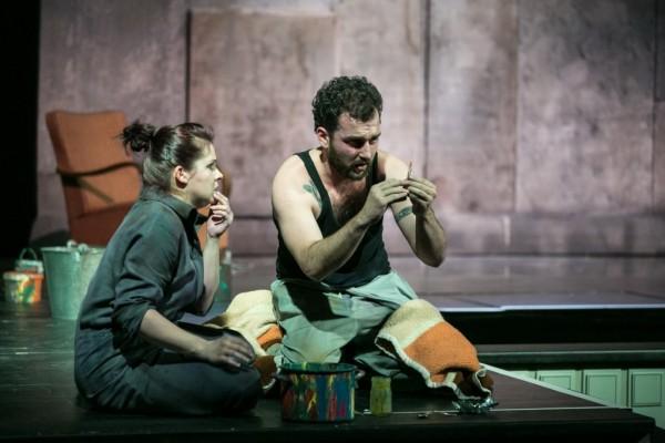 Léna és Kornélis: Szemere Zita és Balczó Péter (fotó: Nagy Attila / Magyar Állami Operaház)