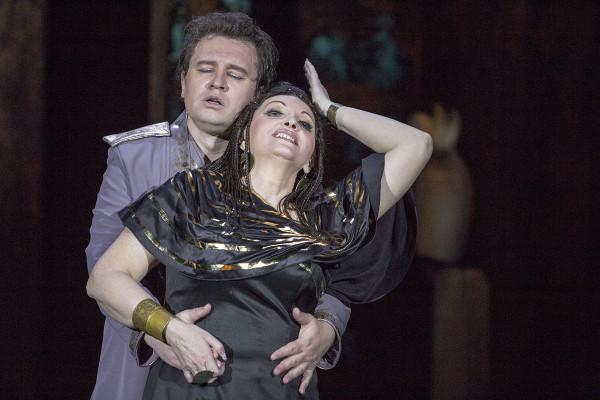 Aida és Radames (Sümegi Eszter és Fekete Attila)