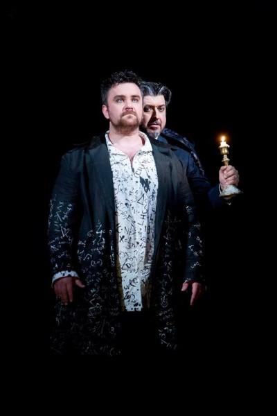 Faust és Mefisztó: Szegedi Csaba és László Boldizsár (fotó: Magyar Állami Operaház)