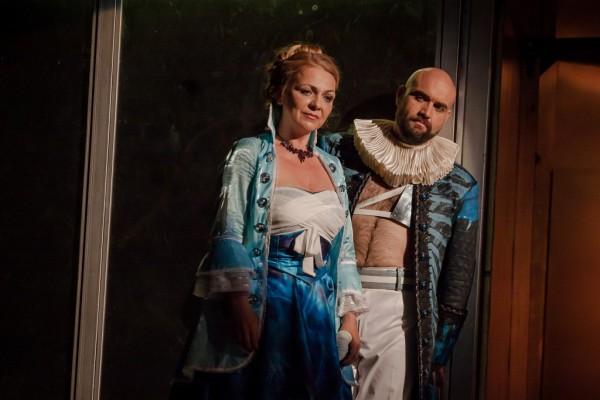 Tamiri és Farnace: Meláth Andrea és Xavier Sabata (fotó: Vermes Tibor)