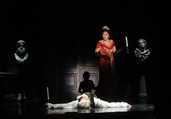 Tosca: Béatrice Uria-Monzon (fotó: Szkárossy Zsuzsa / Budapesti Nyári Fesztivál)