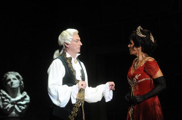 Tosca és Scarpia: Béatrice Urina-Monzon és Fokanov Anatolij (fotó: Szkárossy Zsuzsa / Budapesti Nyári Fesztivál)