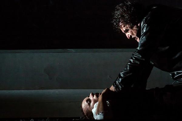 Desdemona és Otello: Létay Kiss Gabriella és Rafael Rojas (fotó: Vermes Tibor)