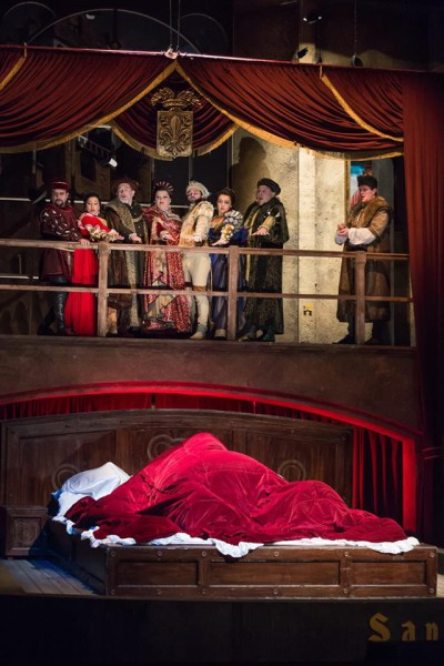 Gianni Schicchi - jelenet (fotó: Magyar Állami Operaház)