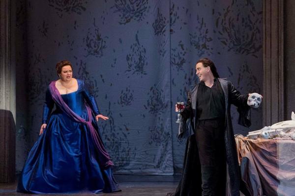 Elvira és Don Giovanni: Fodor beatrix és Erwin Schrott (fotó: Rákossy Péter / Magyar Állami Operaház)