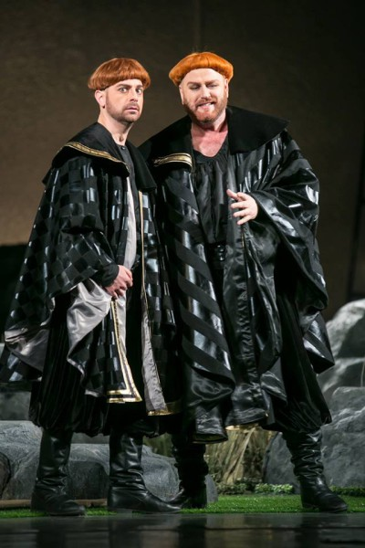 Edgar és Edmund: Matthew Shaw és Frank van Aken (fotó: Magyar Állami Operaház)