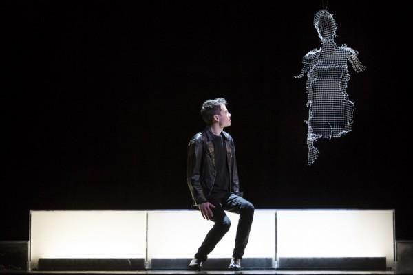 Orfeuszként Gluck operájában (fotó: Pályi Zsófia / Magyar Állami Operaház)