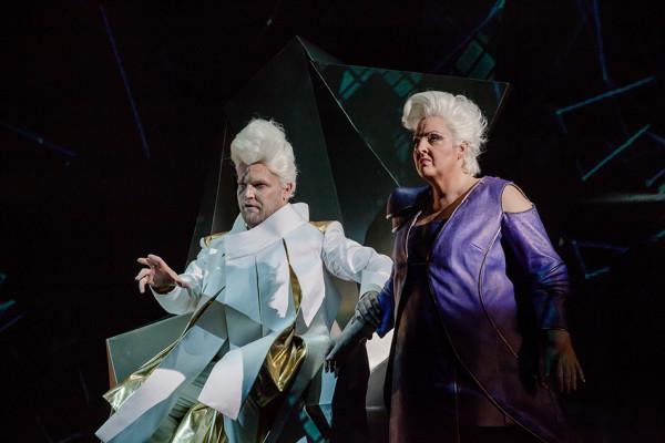 Brünnhilde és Wotan: Linda Watson és Tomasz Konieczny (fotó: Vermes Tibor)