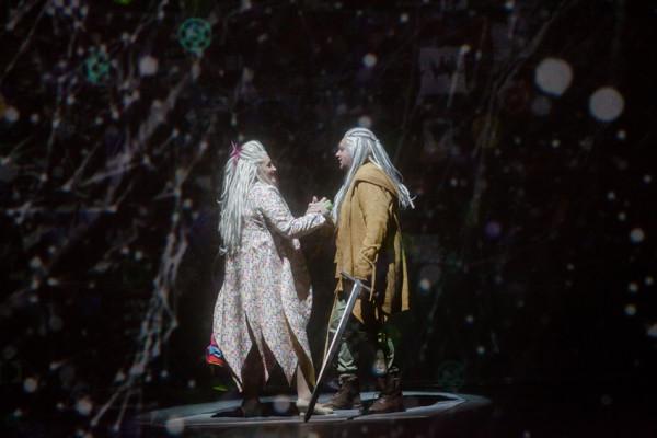Sieglinde és Siegmund: Sümegi Eszter és Kovácsházi István (fotó: Vermes Tibor)