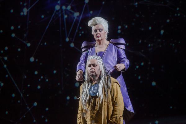 Brünnhilde és Siegmund: Linda Watson és Kovácsházi István (fotó: Vermes Tibor)