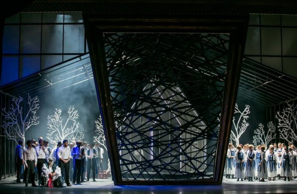 Jelenet az előadásból (fotó: Csibi Szilvia / Magyar Állami Operaház)